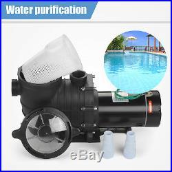 110-240v 2HP Inground Swimming Pool pump motor Strainer Hayward Replacement USA