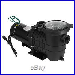 115/230V 1.5HP Swimming Spa Pool Pump Motor Strainer above Inground