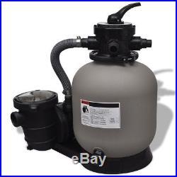 14 Above Ground Swimming Pools SPA Pump Sand Filter / 0.75 HP 4500GPH 1PH Filt