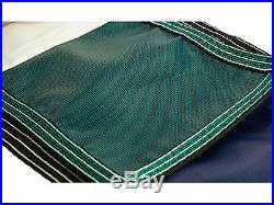 16'x32' Rectangle GREEN MESH In-Ground Swimming Pool Safety Cover