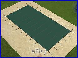 18'x36' Rectangle GREEN MESH In-Ground Swimming Pool Safety Cover