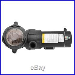 1.5HP Above Ground Swimming Pool Pump Spa High Flow 1.5 Fitting Strainer, 115V