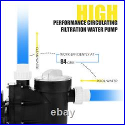 1.5HP Swimming Pool Electric Pump SPA DC 5040 GPH 1-1/2 NPT Water Above Ground