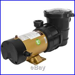 1.5HP Variable Speed Swimming Pool Pump Energy Efficient Strainer UL 2-Speed