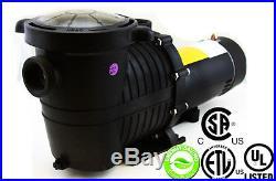 1hp Inground Above Ground Swimming Pool Energy Saving Pumps Motor 3450/1750