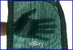 20'x40' Inground Rectangle Swimming Pool Winter Safety Cover Green Mesh 12 Year