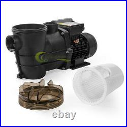 2400GPH 10 Sand Filter Above Ground 0.35HP Swimming Pool Pump intex compatible