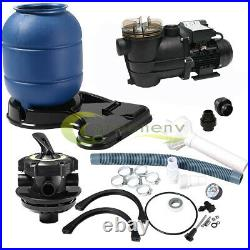 2400GPH 12 Sand Filter Above Ground 0.35HP Swimming Pool Pump intex compatible