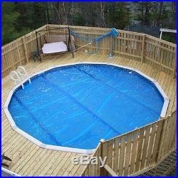 24' Round Above Ground Swimming Pool Solar Cover Blanket 800 Series