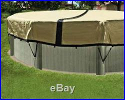 24' Round ULTIMATE ARMORKOTE Aboveground Swimming Pool Winter Cover 12 Year