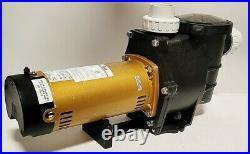 2 speed 2HP Inground Swimming Spa Pool Pump 5850 GPH Dual Speed Motor 2 NPT