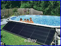 4'x20' Swimming Pool Solar Heating Panel Kit For 24' Round Above Ground Pools