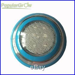 54W PopularGrow IP68 RGB LED Swimming Pool Underwater Lights Remote CE RoHs Lamp