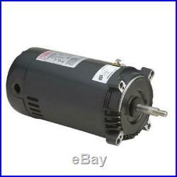 A. O. SMITH UST1152 C-Face Round Flange 1.5 HP 115/230V Pool Super Pump Motor