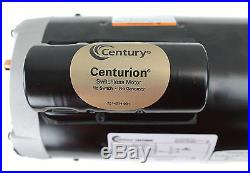 A. O. Smith Century B855 Square Flange 2HP 230V 3450RPM Frame Up-Rate Pool Motor