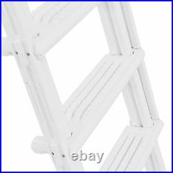 Above Ground Swimming Pool Ladder Heavy Duty Step System Entry non slippery