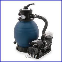 Above Ground Swimming Pool Sand Filter and Pump System Intex Pools 10K Gallons