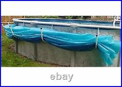 Aboveground Swimming Pool Solar Blanket Cover Saddle Set of 5 Brackets