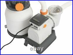 BESTWAY 58497 FLOWCLEAR 1500 gallons/h 5678 liters/h SAND FILTER POOL PUMP