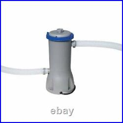 Bestway 58388E 1000 GPH Above Ground Pool Cartridge Filter Pump System(Open Box)