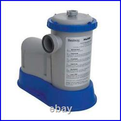 Bestway Flow Clear 1500 GPH Above Ground Swimming Pool Filter Pump (Open Box)