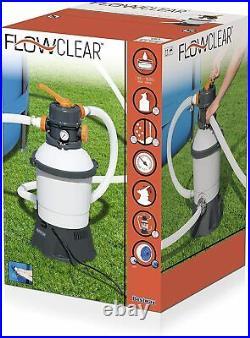 Bestway Sandfilteranlage Flowclear 3.028 l/h für 1.100-16.600 l Pools