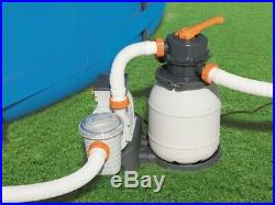 Bestway Sandfilteranlage Flowclear Sandfilterpumpe Pool Filter Schwimmbecken