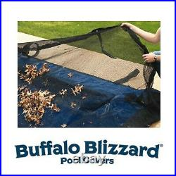 Buffalo Blizzard 16' x 32' Rectangle Swimming Pool Leaf Net Winter Cover