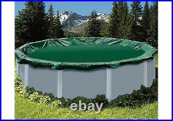Buffalo Blizzard 27 / 28 Round Swimming Pool Above Ground Winter Cover