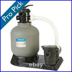 Doheny's Above Ground 19 in. Sand Filter System with 1 HP Pump