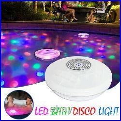Floating Light Hot Tub & Pool BESTWAY FLOWCLEAR Lay-Z-Spa LED Bath Disco Light