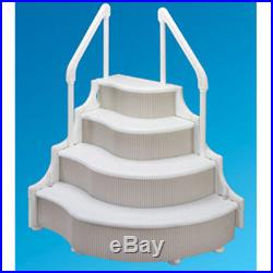 Grand Entrance In-Pool Entry Steps For Above Ground Swimming Pool 47X53X42