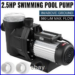 Hayward 2.5HP Swimming Pool Pump Self-Priming Spa Above In Ground 1850w Motor