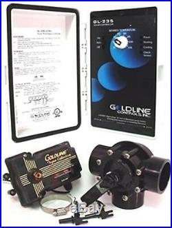 Hayward GLC-2P-A Swimming Pool Solar Panel Controller GL-235 + valve/sensors