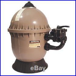 Hayward S200 Inground Swimming Pool High Rate Sand Filter with 1.5 Valve