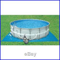 INTEX 1200 GPH Krystal Clear Sand Pool Filter Pump Set 110-120 Volt (Open Box)