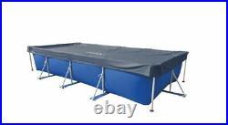 INTEX 28039 FRAME RECTANGULAR 460x226cm 15x7.5FT SWIMMING POOL SHEET STEEL COVER