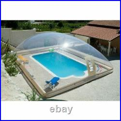 Inflatable Hot Tub Swimming Pool Customised Solar Dome Cover Tent Blower & Pump