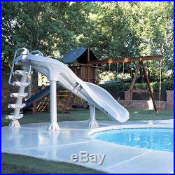 Interfab X-Stream Extreme 2 Inground Swimming Pool Water Flume Slide XS-GR-SS