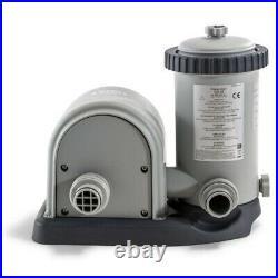 Intex 11471EG 1500 Gallon Pool Replacement Filter Pump Housing and Motor (120V)