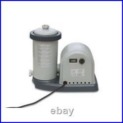 Intex 1500 GPH Easy Set Pool Filter Pump withTimer & GFCI 28635EG (Used)