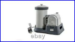 Intex 2500 GPH Filter Cartridge Pump Above Ground Swimming Pool Timer NEW 120v