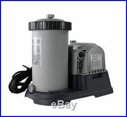 Intex 2500 GPH Swimming Pool Filter Pump + Replacement Hose Adapter B (Pair)