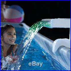 Intex 28090 Spruzzino Multicolor Led Per Illuminazione Piscina 3 Colori
