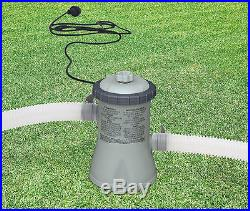 Intex 330 GPH Easy Set Swimming Pool Cartridge Filter Pump with GFCI 28601EG