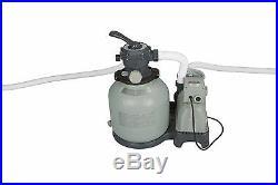 Intex Krystal Clear 2800 GPH Above Ground Swimming Pool Sand Filter Pump 28647EG