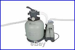 Intex Krystal Clear 3000 GPH Above Ground Swimming Pool Sand Filter Pump 28651EG
