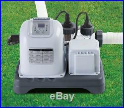 Intex Krystal Clear Saltwater System Swimming Pool Chlorinator 28663EG
