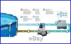 Intex Krystal Clear Salzwassersystem & Ozon Desinfektion 26666