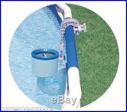 Intex Swimming Pool Surface Skimmer Wall Mount Basket Debris Above Ground Deluxe